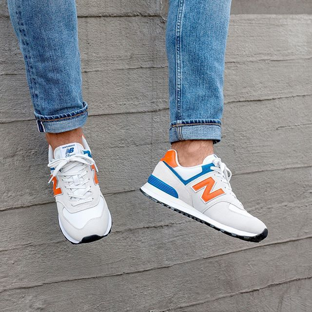 New Balance ML574SMG | New balance sneakers mens, New ...