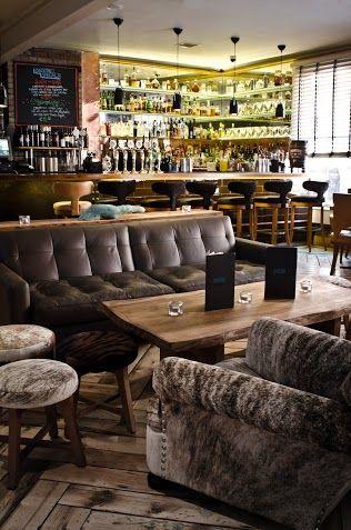 The bar at Fade Street Social