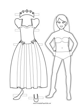 14 best images about Printable Paper Dolls on Pinterest ...