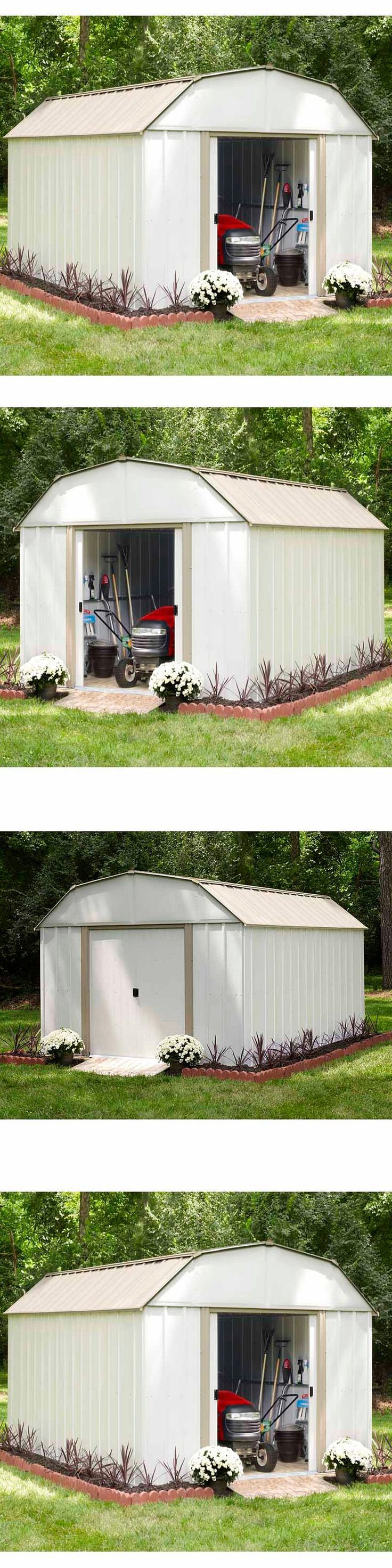 The garage turned garden shed storage ideas country living - Garden And Storage Sheds 139956 Garage Garden 10 X 12 Outdoor Storage Shed Backyard Metal