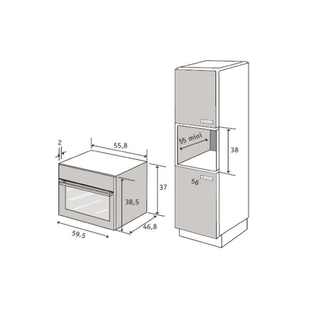 les 25 meilleures id es de la cat gorie frigo inox sur. Black Bedroom Furniture Sets. Home Design Ideas