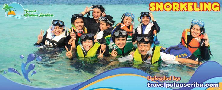 Berbagai aktivitas bisa dilakukan di Pulau Seribu. Snorkeling Merupakan Aktivitas Favorit Para Wisatawan yang Berkunjung ke Pulau Seribu . #pulauseribu #snorkeling
