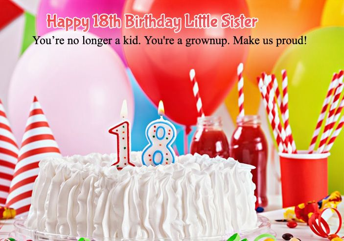 18th Birthday Little Sister