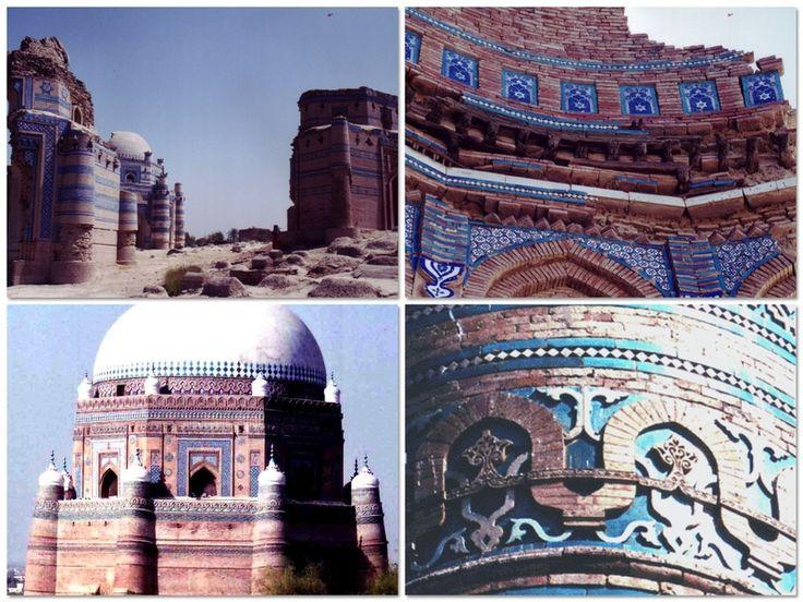 e0063212_2141418.jpg 「パキスタンのタイルということでは、時代を遡り、デリースルタン王朝時代の、ムルタンやウッチュのタイルが圧巻です。こちらは青、青、青。濃い青、強い青。そして幾何学の構図が素晴らしい。インド亜大陸タイルの傑作です。」