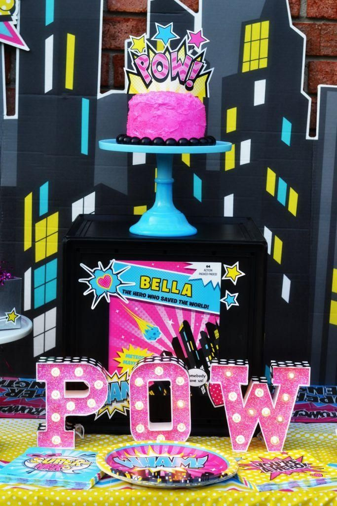 Let Brittany Schwaigert show you how to through the perfect Girl Superhero Party for your little crime fighter, with help from BirthdayExpress!