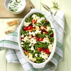 Ovenschotel met spinazie en feta Recept | Weight Watchers België
