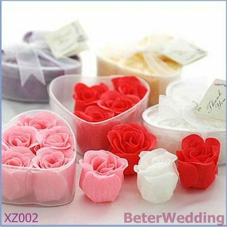 Rose Petals - Heart Box Wedding soap Favors XZ002 Wedding Decoration, Wedding Gift, Wedding Souvenir_hotel amenity Shanghai Beter Gifts Co Ltd 上海倍樂禮品 Your Baby Baptism Party or Birthday Party Gifts Ideas http://www.aliexpress.com/store/product/novelty-Bride-and-Groom-Wedding-Bubble-Favors-48pcs-24pair-ZH015-Wedding-Gift-BeterWedding-Shanghai-Beter-Gifts/512567_578785475.html #babygifts #partygifts #uniquefavors