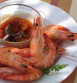 Sizzling Garlic Prawns with Hot Pepper and Amontillado Sherry