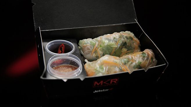 Chicken Rice Paper Rolls with Nuoc Cham