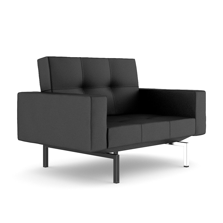 Black Leather Armchair II | 3D Furniture | Pinterest | Leather Armchairs,  Armchairs And Leather