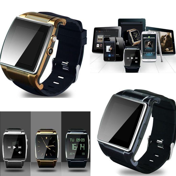 Bluetooth V3 0 Smart Watch Cellphone 2 0 Mp Camera For