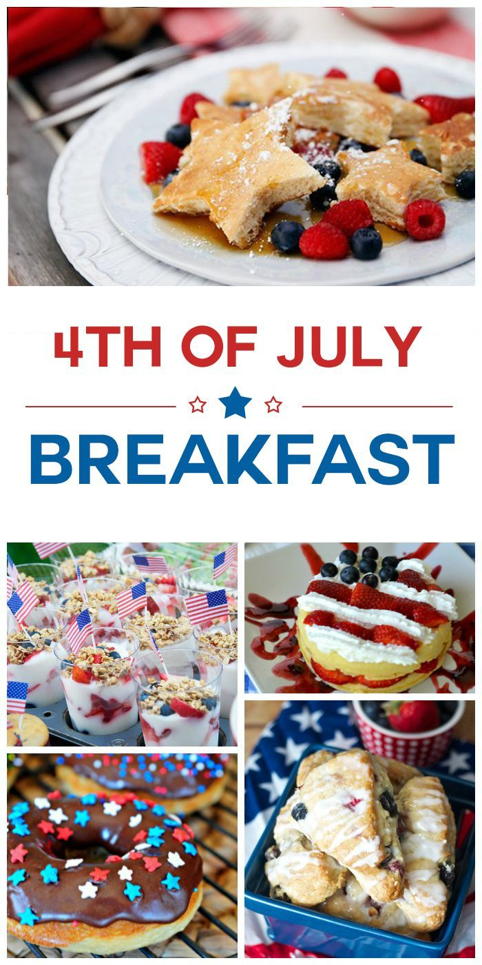 10 4th of July Breakfast Ideas. Start your Independence Day off right with a fun and festive patriotic breakfast!