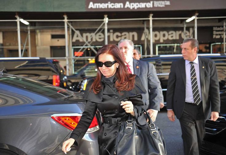 En Nueva York, para participar mañana de la 68ª... | Cristina Fernández de Kirchner