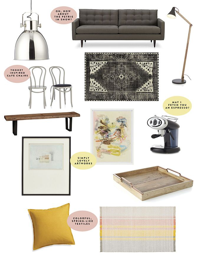 New home essentials list from @sfgirlbybay