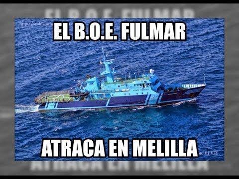 El BOE Fulmar llega a Melilla - Vigilancia Aduanera(SVA) El Buque  BOE Fulmar llega a Melilla - Vigilancia Aduanera(SVA): http://youtu.be/B1XQeACk9Pw vía @segurpricat #juliansafety #segurpricat