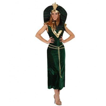 http://www.disfracessimon.com/disfraz-faraona-p-1186.html?osCsid=9349725c4868f232823ae68d90b67d63#.Uvs8Gd3PZ4w Disfraz de Faraona  Incluye: Vestido y gorro  Composición: Terciopelo