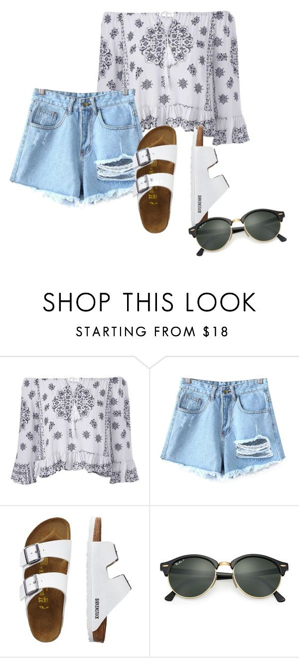 """Summer"" by grraciie-386 on Polyvore featuring Chicnova Fashion, TravelSmith and Ray-Ban"