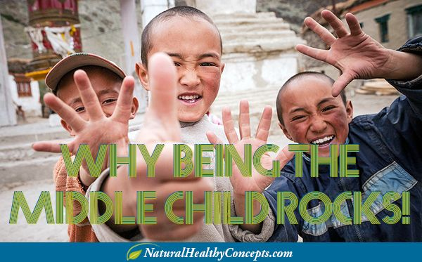 Why Being a Middle Child Rocks! Time to say To Heck With Middle Child Syndrome - Happy National Middle Child Day! Plus, find out why birth order really matters...