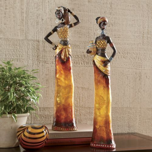 African Woman Figurine from Midnight Velvet®