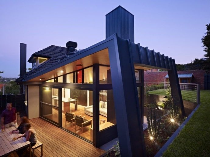 Renovation And Extension: Kew House By Nic Owen Architects, Melbourne,  AustraliaNic Owen Architects Designed A Renovation And Extension To The  Rear Of An ...