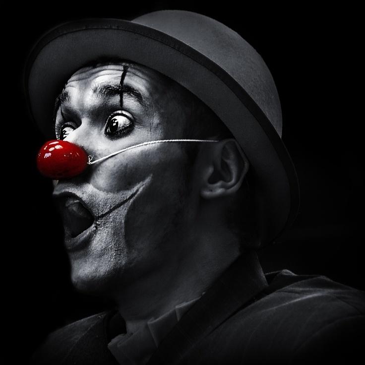 Clowns are creepy as f**k...