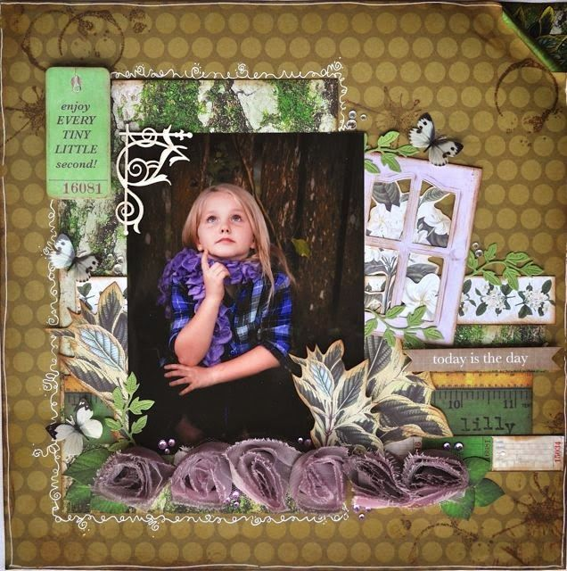 From A Mothers Art... By Kelly-ann: KAISERCRAFT Layouts for March 2014