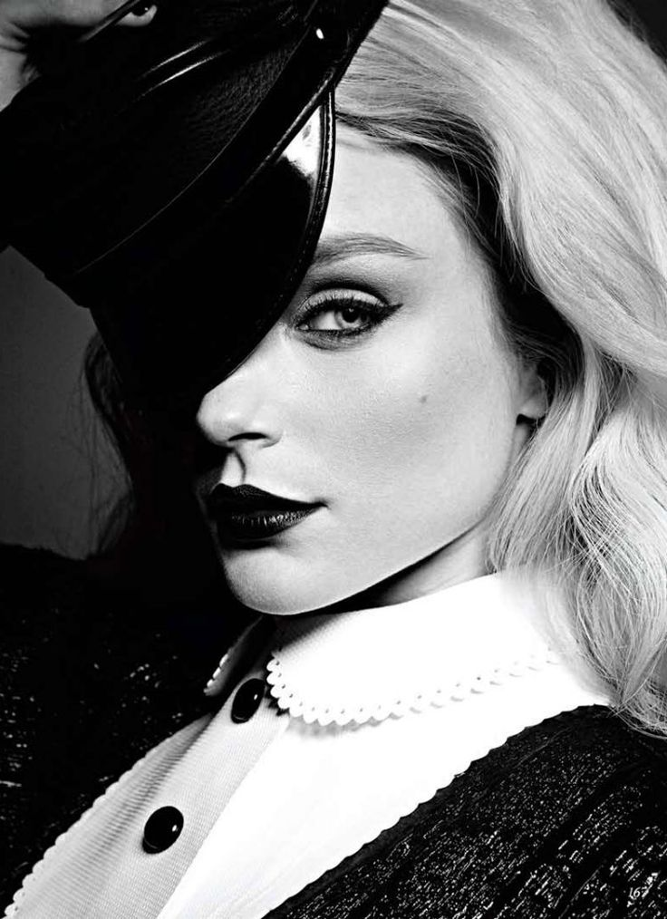 Jessica Stam by Max Abadian for FLARE