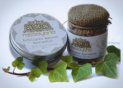 Exfoliante semi solido - ayurveda - coco - todo tipo del piel