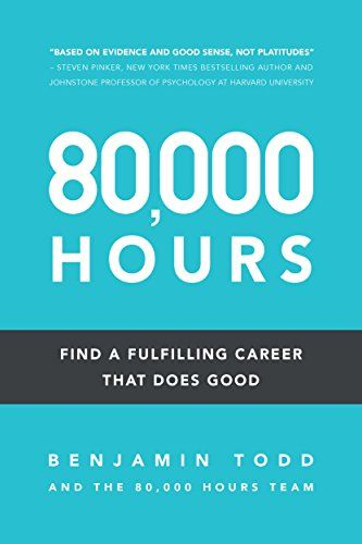 Alfred picked up 80,000 Hours: Find a fulfilling career that does good