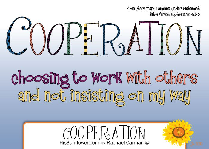 free cooperation coloring pages - photo#34
