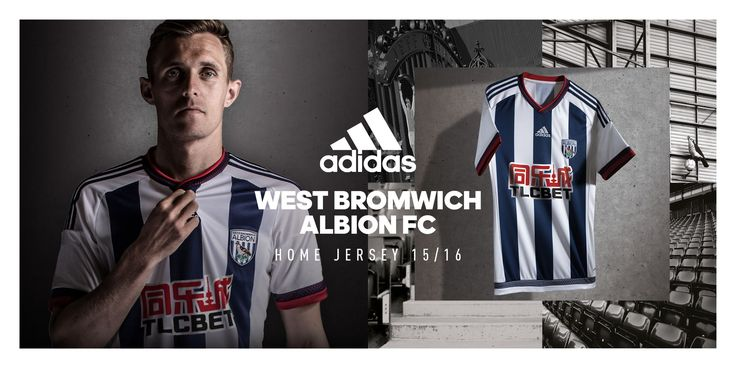 Kit Maillot domicile Adidas #Baggies #Fletcher #9ine @WBromwich
