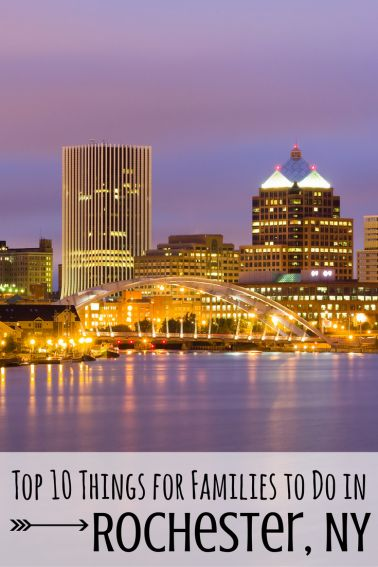Rochester has the makings of the perfect family vacation destination. Check out these top 10 things to do in Rochester New York with kids! via trekaroo.com
