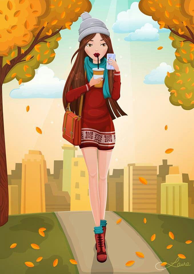 """First of my """"autumn ladies"""". Enjoy :)"""