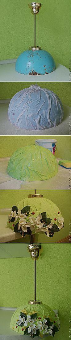 Люстра для кухни своими руками - Ярмарка Мастеров - ручная работа, handmade