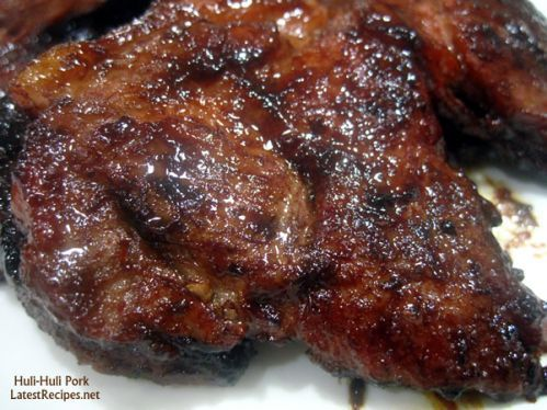 Huli-Huli Pork Steak