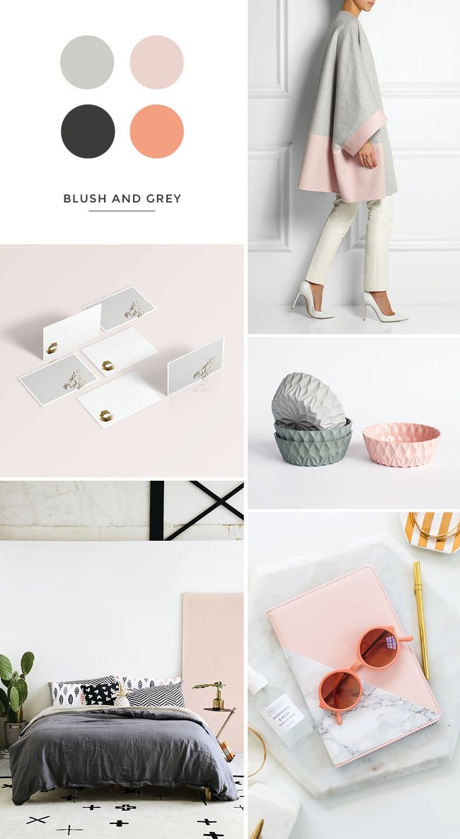 coat | stationery | bowls | bedroom | tablet cover Have you ever found yourself constantly drawn to certain a something but you've gone days, months, years without realising it? That was me with this blush pink and grey mix. My favourite colour is green and I'm always opting for bright, bold shades in my work (or so I thought), and then …