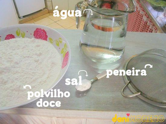 Como hidratar tapioca