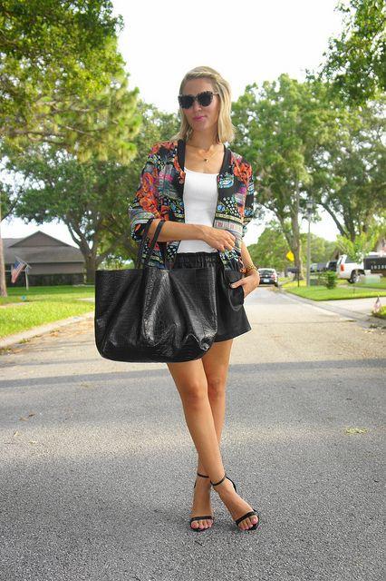 Belle de Couture in our Aztec Zip up Jacket