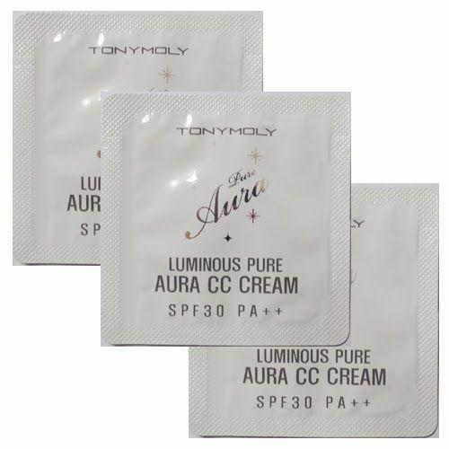RS beauty blog: Tony Moly, Luminous Pure Aura CC cream