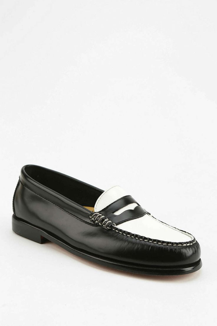 Bass Wayfarer Two-Tone Loafer