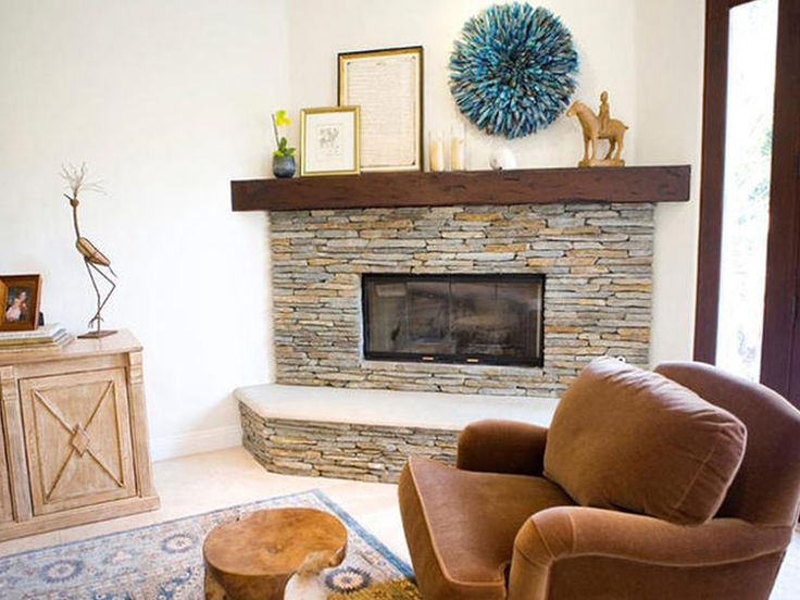 47 best fire places images on Pinterest | Corner fireplace ...