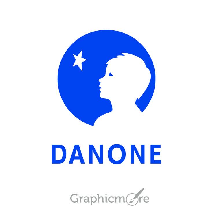 Danone Group Logo Design Free Vector File