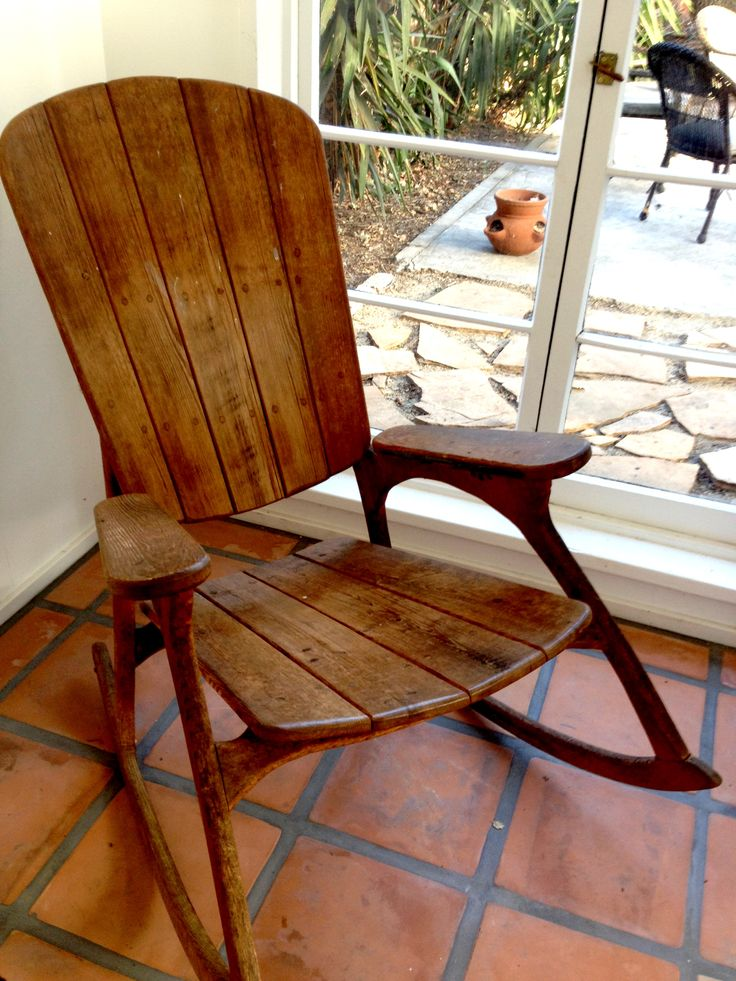 rocking chair- love this style of rocking chair.