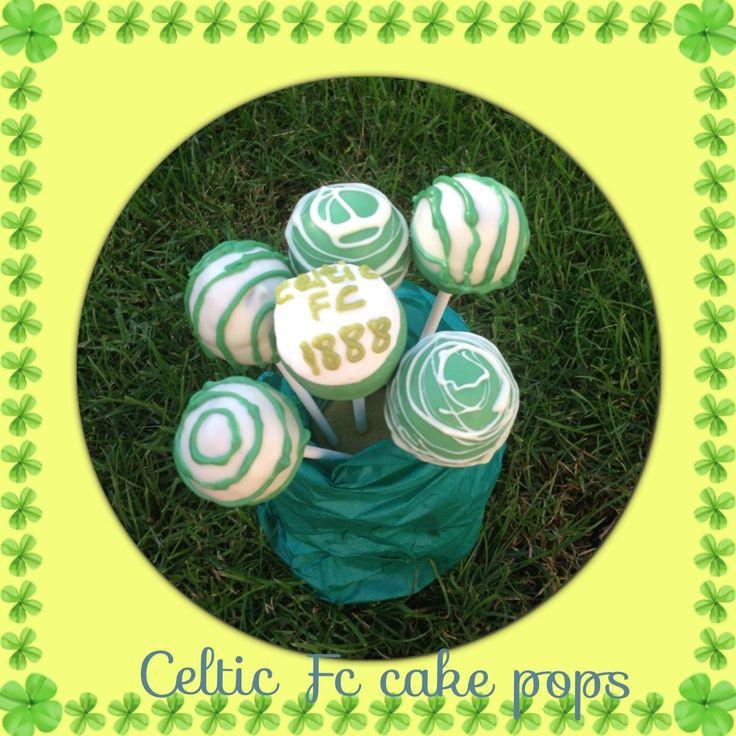 Celtic FC cake pops