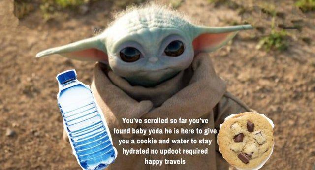 The Child Wishes To Feed You Babyyoda Yoda Meme Funny Star Wars Memes Yoda