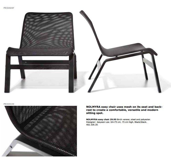Nolmyra chair, IKEA