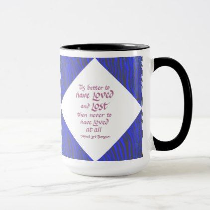 LOVE QUOTE ZEBRA PRINT-MUG MUG - diy cyo personalize design idea new special custom