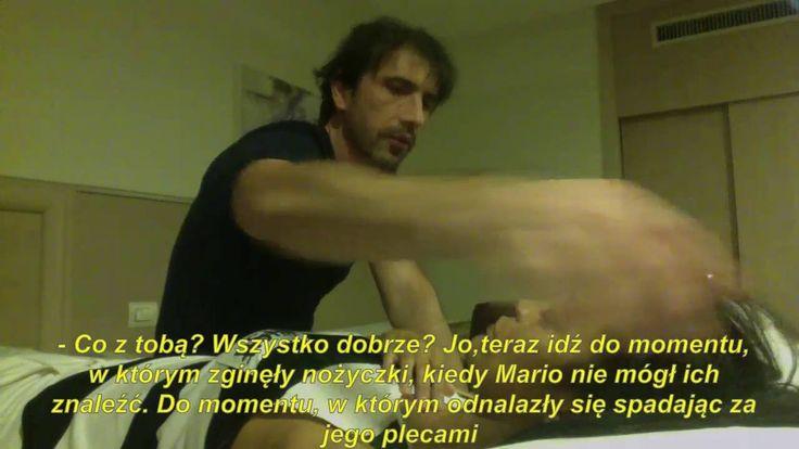 1164_PL_ Mario, Kontakt fizyczny wywołujący reakcje Hipnoza Regresyjno-Telepatyczna Calogero Grifasi