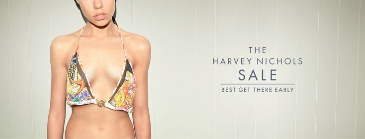 The Harvey Nichols sale. Best get there early. Advertising Agency: adam&eveDDB, London, UK