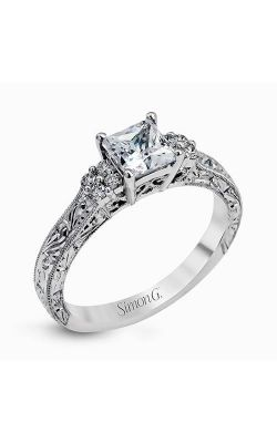 SIMON G DUCHESS LP2253  Let the Round side diamonds get into the being of your loved one more as it expresses your alluring love. Set in Prong setting type, these crafted elements of beauty are sure to ravel more the marvel of the ring and your love as well.  The center stone for this enticing piece is Not included (sold separately). Other stone shapes that are suited as an alluring center stone are: Radiant, Emerald, Cushion, Asscher.  Foster and Sons Jewellers is an authorized and trusted